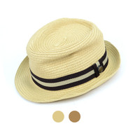 "6pcs Two Sizes Spring/Summer 2"" Brim Fedora Hat H0543"