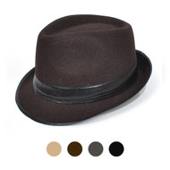 Fedora Hat 6pc HT0297