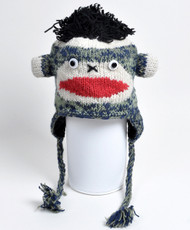 Wool Animal Hats Monkey - AHW001