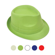 6pcs Two Sizes Spring/Summer Fedora Solid Hat H0618