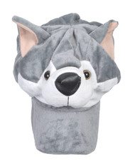 Animal Fleece Cap - Huskey ACAP2050