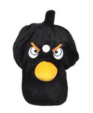 Animal Fleece Cap - Black Bird ACAP2080