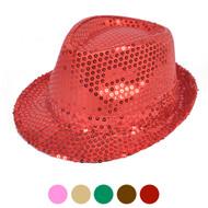 Sequin Fedora Hat H10246582