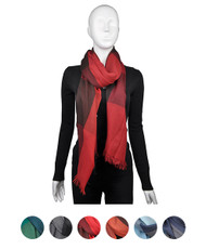 12pc Assorted Pack Viscose Scarf