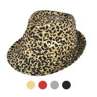 6pc Sequin Fedora Hat H10246574