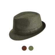 6pc Men's Fedora Hats - H306161