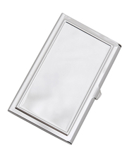 12pc Trim Cover Stainless Steel Card Case NCC1030