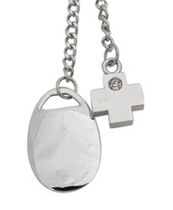 RX Charms Zinc-Alloy Keychain (Engraveable) K1130