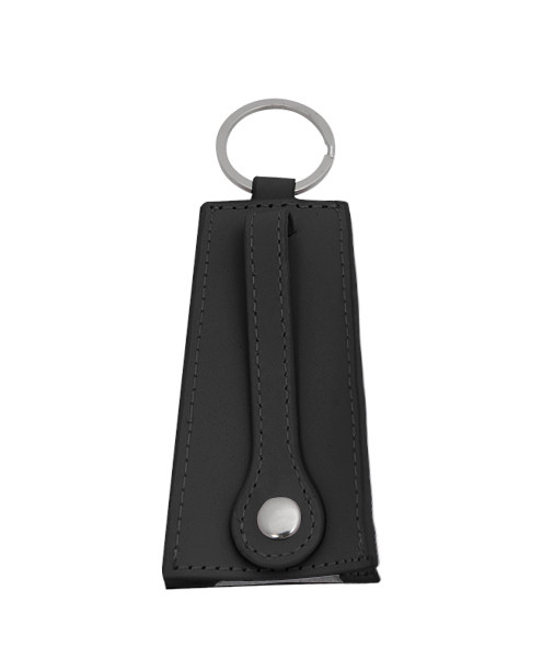 Cowbell Black Leather Security Keyholder KH1030