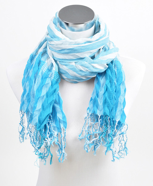 6pc Pre-Pack Ladies Polyester Scarf LS3310