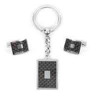Cufflink & Key Chain Set CKB213
