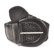 12pc Women's Braided Woven Belt HW5523