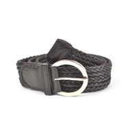 12pc Ladies Braided Woven Belt HW6035B