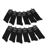 12pc Pack Assorted Poly Socks DSP12SB