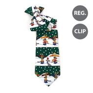 Boy's Christmas Tie BN4602-GR