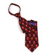 """Poly Zipper """"Cross"""" Tie PZX4434"""