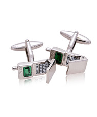 Cell Phone Novelty Cufflinks NCL4507
