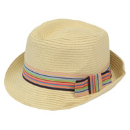 6pc Women's Fedora Hat H0569