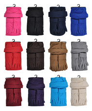 6pc Pack Women's Polyester Fleece Winter Set WSET50
