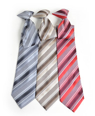 Microfiber Poly Woven Clip-On Tie MPWCL4601