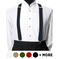 6pc Men's Clip Suspenders CS1301