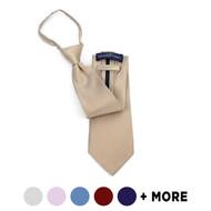 X-Long Silk Zipper Tie SSXZ1301