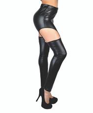6pc Ladies Garter Leggings