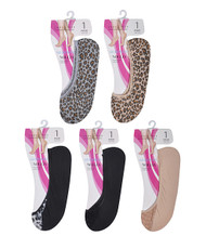 12pc Assorted Shoe Liner Animal - SL7995