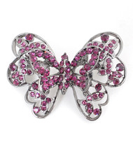 Brooch - Purple Butterfly IMBCBR03302