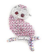 Brooch - Owl Pink IMBCBR0372