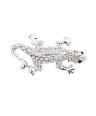 Brooch - Silver Lizard IMBCBR08731