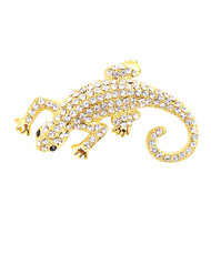 Brooch - Lizard Gold IMBCBR08782