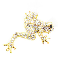 Brooch - Stretch Frog Gold IMBCBR08982