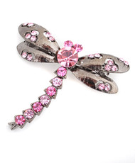 Brooch - Dragonfly Pink IMBCBR09652