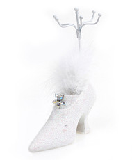 "High Heel Jewelry Stand 6"" JDP1200WHT"