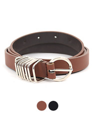 Ladies Skinny Belt 12pc Pack F4367