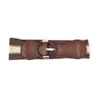 12pc Pack Ladies Braided Woven Belt S882