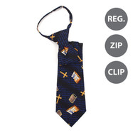 Boy's Bible & Cross Novelty Tie BN1701-T