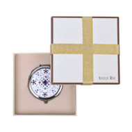 Swarovski Elements Round Makeup Compact S9138
