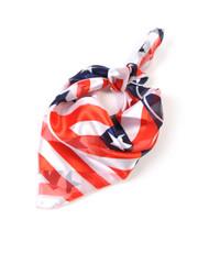 """""""Texas Flag"""" Polyester Neckerchief 12 pc Prepack NK01"""