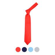 Boy's Micro Fiber Poly Woven 49 inch Tie