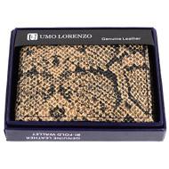 Bi-Fold Genuine Leather Beige Wallet MGLW-A26BG
