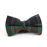 """Kid's 2"""" Poly Plaid Banded Bow Ties BBT4005"""