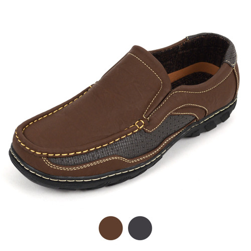 ANCORA - 12pcs Men's Cool and Casual Loafers BGL1002