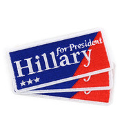 2016 Hillary Clinton for President Patches - PHillary2