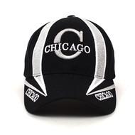 Chicago Black Baseball Cap EBC10299