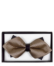 6pc Prepack Diamond Tip Banded Bow Tie DBB3030-24