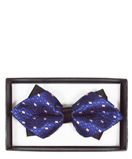 6pc Prepack Diamond Tip Banded Bow Tie DBB3030-14