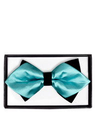6pc Prepack Diamond Tip Banded Bow Tie DBB3030-47