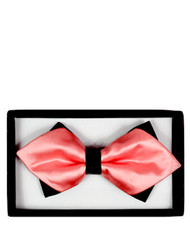 6pc Prepack Diamond Tip Banded Bow Tie DBB3030-49
